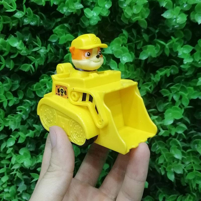 Paw Patrol, набор игрушек, собака Patrulha Canina, аниме, фигурка автомобиля, фигурки, украшения, игрушки для детей, подарки на день рождения 2D32