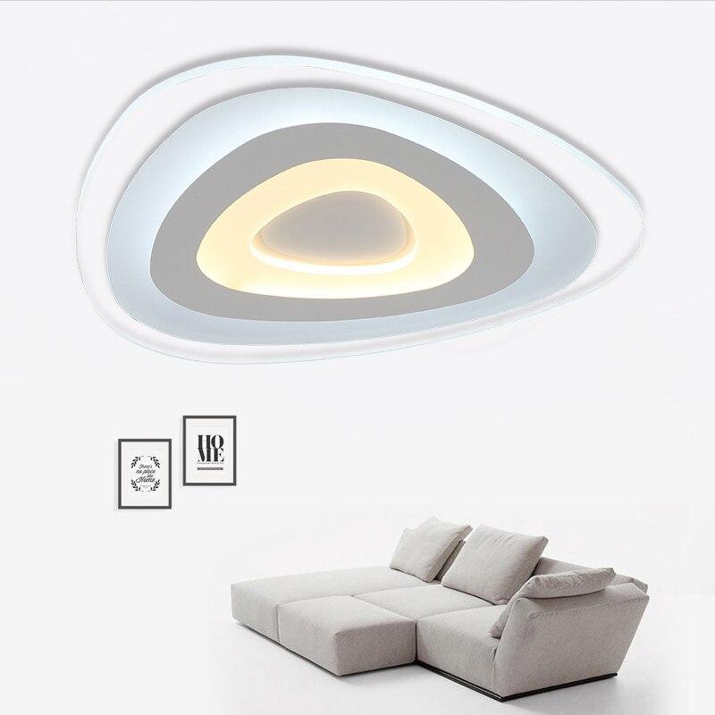 Modern Home Ceiling Lights : New ultra thin modern led ceiling lights creative arc