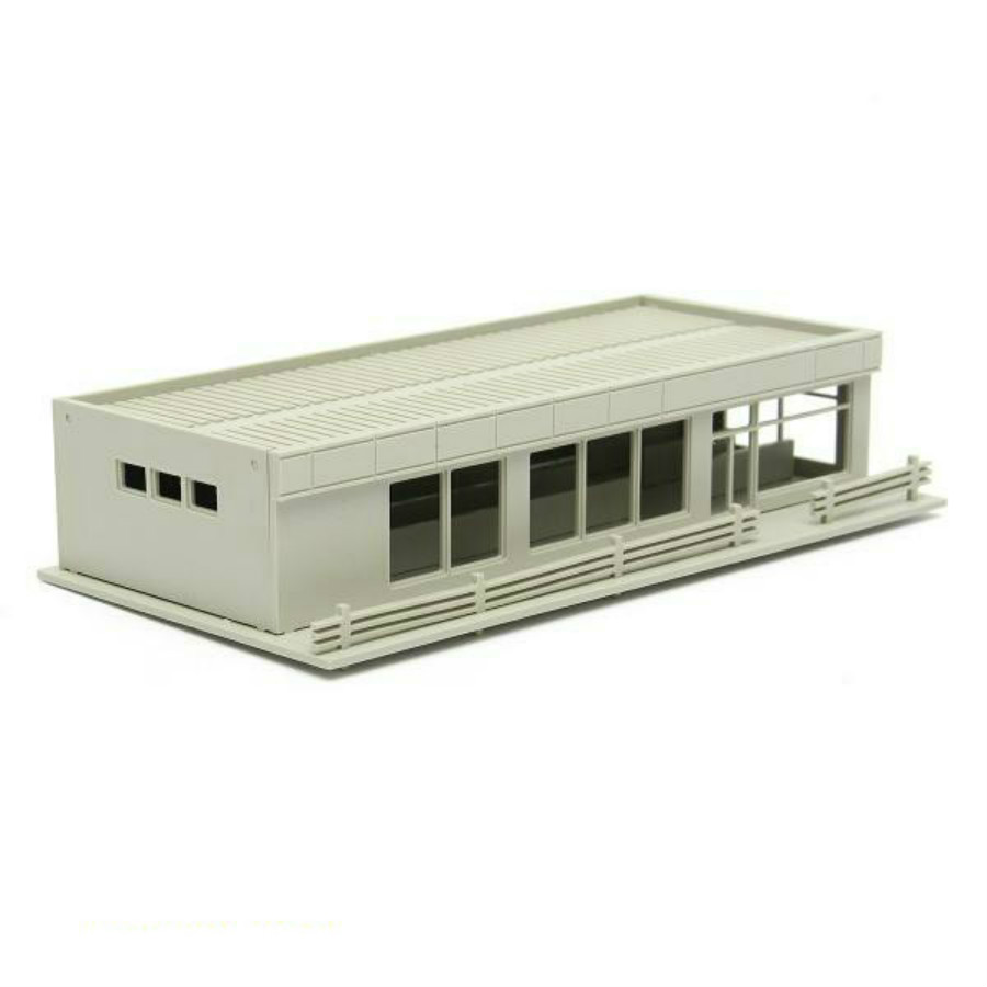 2018 new ho n scale 1/87 1/150 model factory architectural