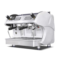 Semi automatic Coffee Machine Double head Italian Coffee Maker High pressure Steam Espresso Coffee Equipment NB 6