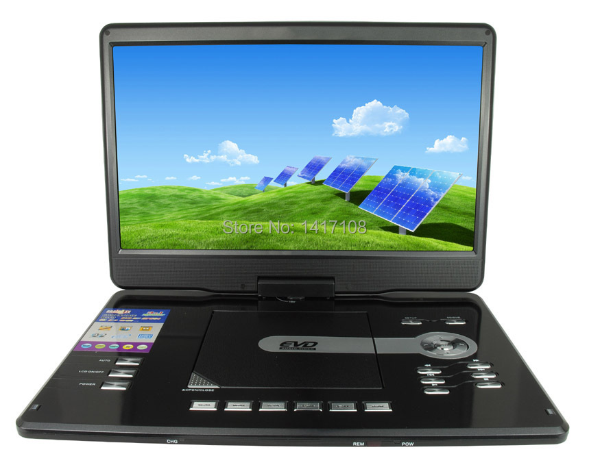 Made In China 154 Inch Dvd Portable Player With Tv Tuner Hdmi Usb