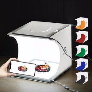 2 LED Lightbox Mini Foldable Camera Phot