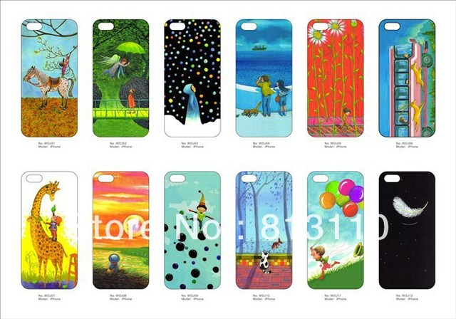 Jimmy comic matte painted luminous 4G 5G case with bump frosted feel  protective shell  for iphone 4 4s and 5 free shipping+gift