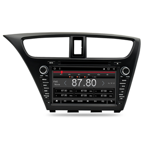 Image 3 - Android 9.0 Car Stereo DVD For Honda Civic Hatchback 2013+ WIFI 2 Din RDS GPS Navigation Bluetooth Audio Video Multimedia