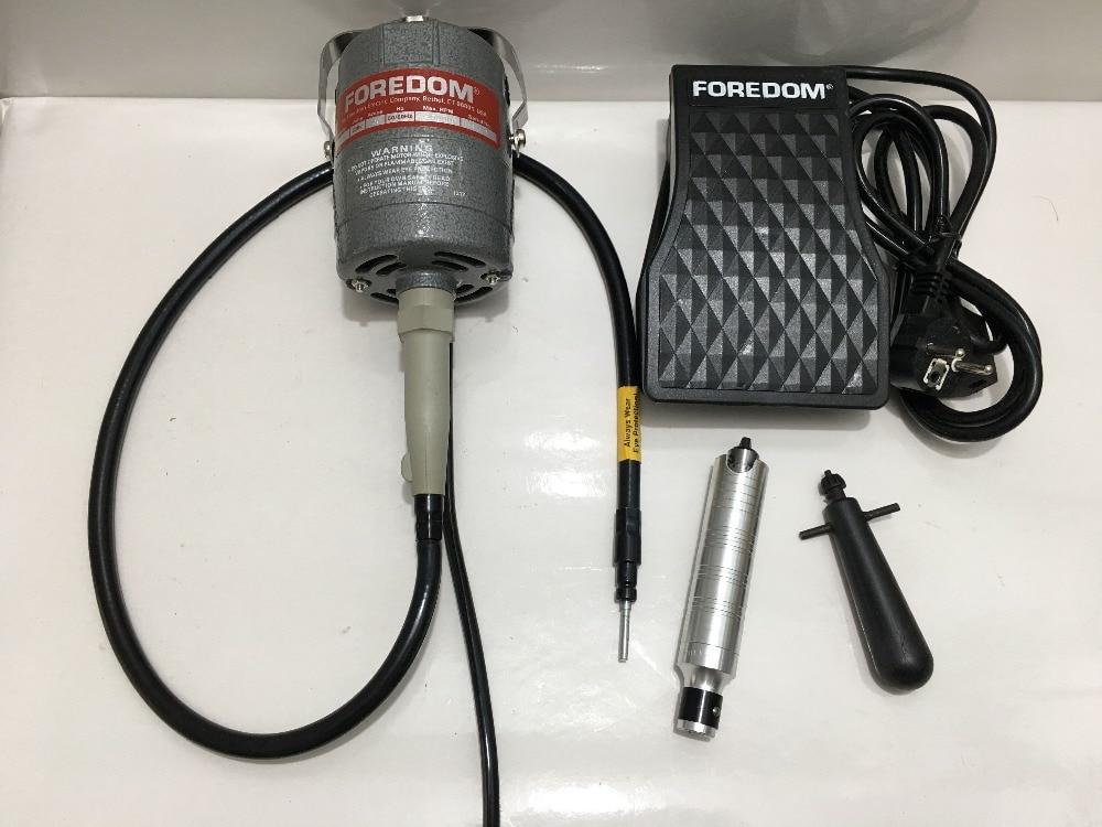 FREE SHIPPING Foredom polishing motor ,dental equipment tools ,foredom flex shaft motor 220v free shipping new to 220v foredom flex shaft motor