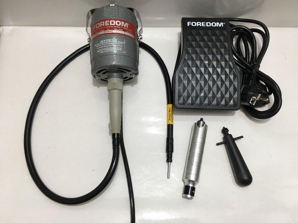 LIVRAISON GRATUITE Foredom polissage moteur, outils de matériel dentaire, foredom flex arbre moteur 220 v
