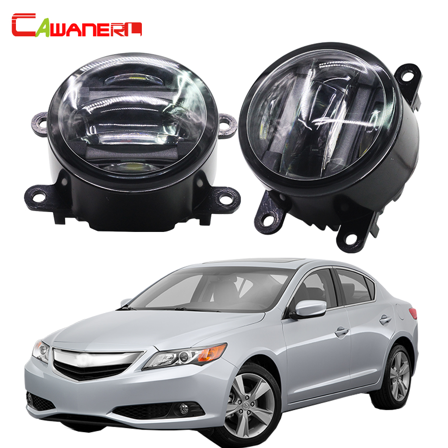Cawanerl For Acura TSX TL ILX RDX Car Accessories Front
