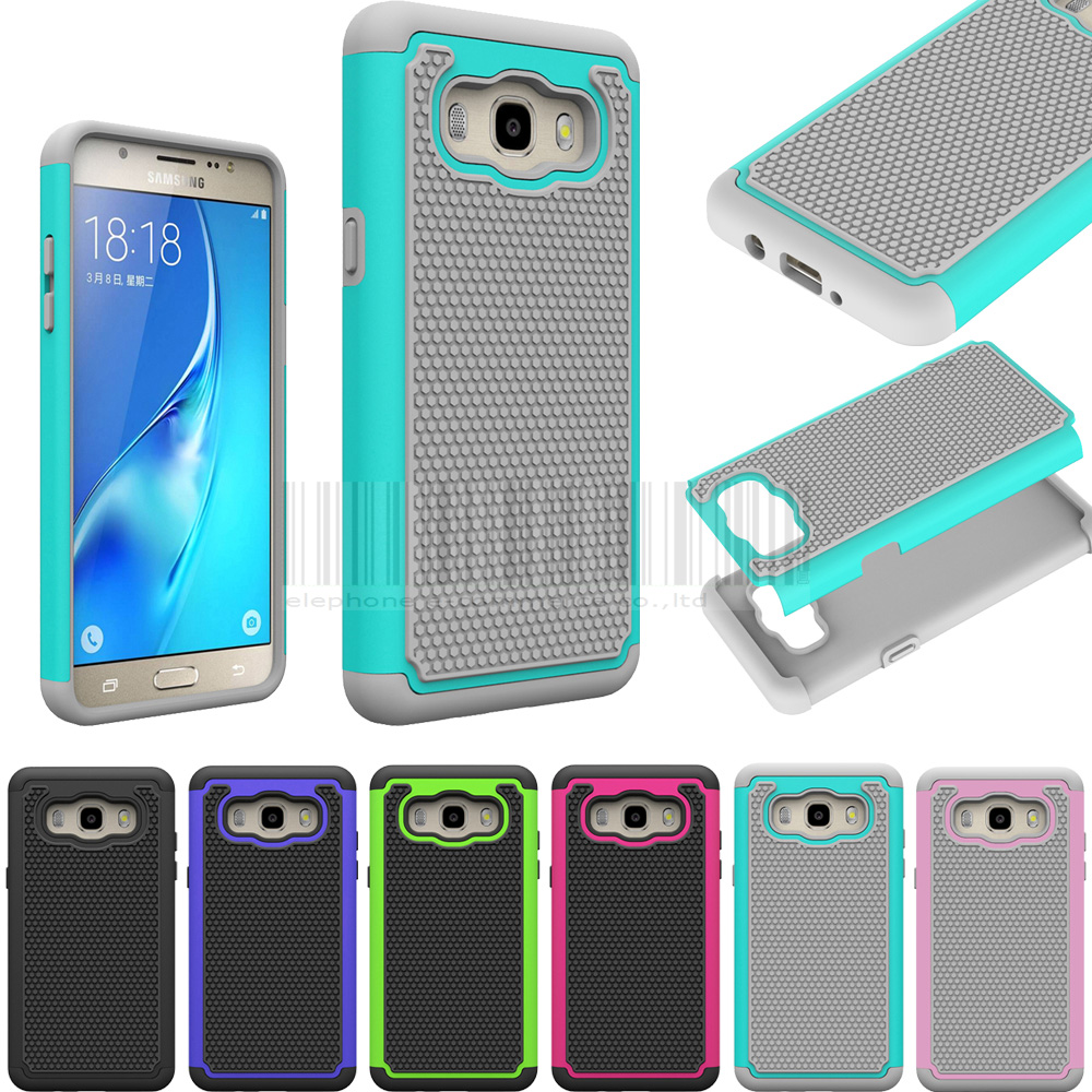 Shockproof Heavy Duty Armor Case Hard PC Silicone Protective Cover For Samsung Galaxy J5 2016 J510FN J510F J510G J510Y J510M image