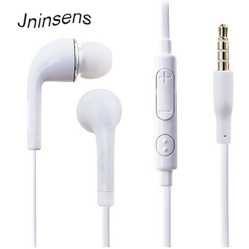 Wholesale 3.5mm In-Ear Stereo Earphone Earbud Silicone earpieces with MIC Microphone for Samsung Galaxy S3 S4 teamyo portable in ear earphone stereo music handsfree headset with mic volume control for samsung galaxy s2 s3 s4 note3 n7100