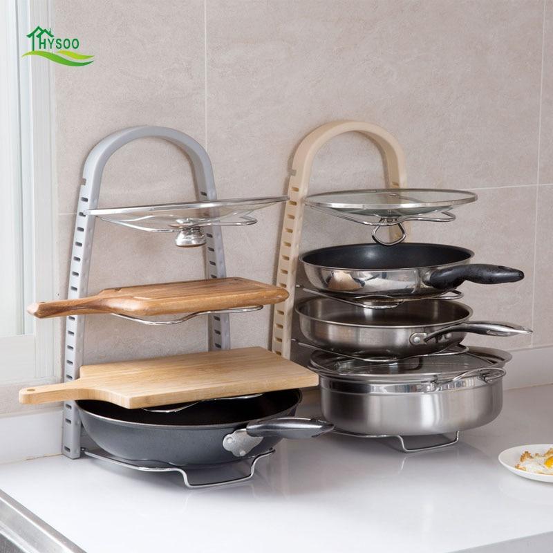 Punch Free Pots And Pans Kitchen Shelf Shelves Racks