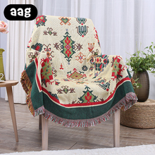 AAG Thickened Sofa Cotton Blanket Simplified Modernity Air Conditioning Cool Throw for Bed Room Sofa/Bed/Couch/Car