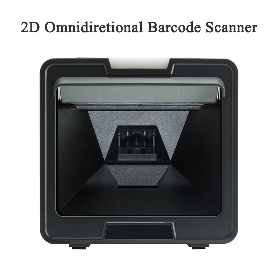 Desktop 1D 2D Barcode Scanner reader USB QR 2D Presentation Omni Omnidirectional Scanner Bar Code Reader 1500 times/s OBS-2004 desktop omnidirectional 1d 2d ccd image laser barcode scanner for supermarket usb pos bar code reader auto scan 2d qr code