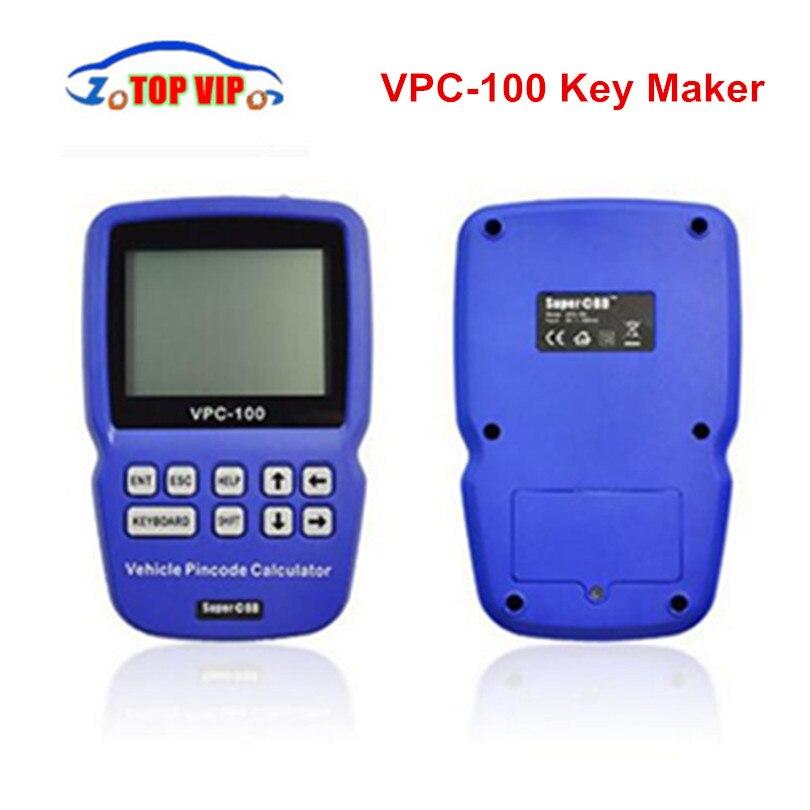 2018 Лидер продаж Булавки товара VPC 100 Авто ключевой создатель калькулятор Поддержка почти все автомобили vpc100 Auto Key Программист VPC 100 DHL бесплат