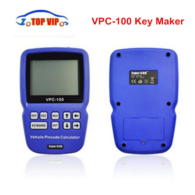 2018 hot selling pin code vpc 100 auto key maker calculator support almost all cars