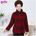 Big yards Cotton-padded clothes Coat Women 60-100Year Grandma clothes Thick Super warm Cotton-padded jacket  clothes AA8596