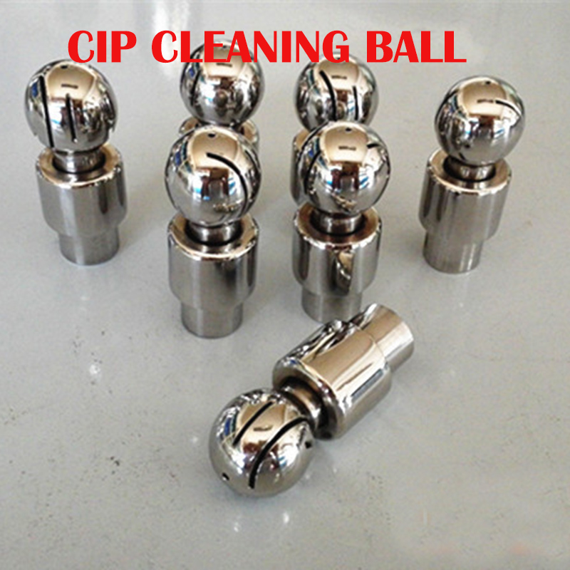 DN25 female keg cleaning ball, CIP cleaning ball, home brew malt spray ball