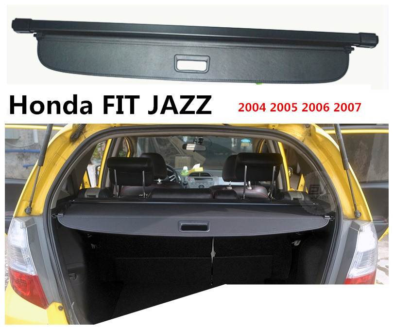 For Honda FIT JAZZ 2004 2005 2006 2007 Rear Trunk Cargo Cover Security  Shield Screen Shade ...