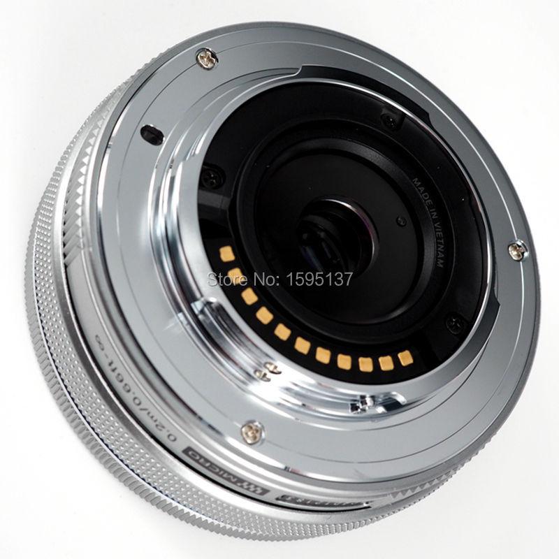 Silver / Black For OLYMPUS 14-42mm F3.5-5.6 EZ  Lens 14-42mm Electric Lens 14 42 EZ Lens (No Original Packing Box )