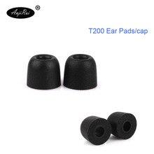 4 pcs/2 pairs. ANJIRUI T200 13.5mm  Memory Foam Tips Sponge headphone Ear Pads/cap 4.1 mm caliber with set Headsets accessories