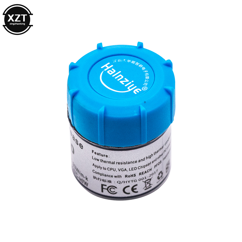 HY510 25g Grey Silicone Compound Thermal Paste Conductive Grease Heatsink For CPU GPU Chipset notebook Cooling with scraper 3