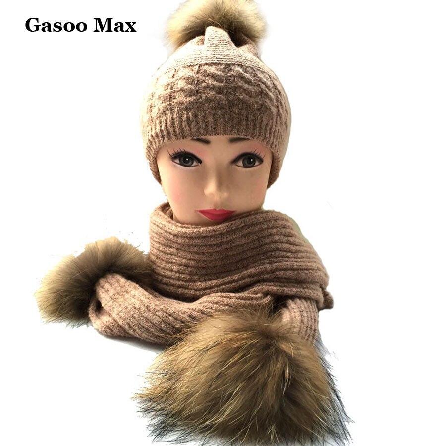 Luxury Winter Warm Women Fashion cashmere knitted Scarf