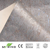 2019 MY WIND Silver Wallpapers Luxury 100%Natural Material Safety Innocuity 3D Wallpaper In Roll Home Decor European aristocracy