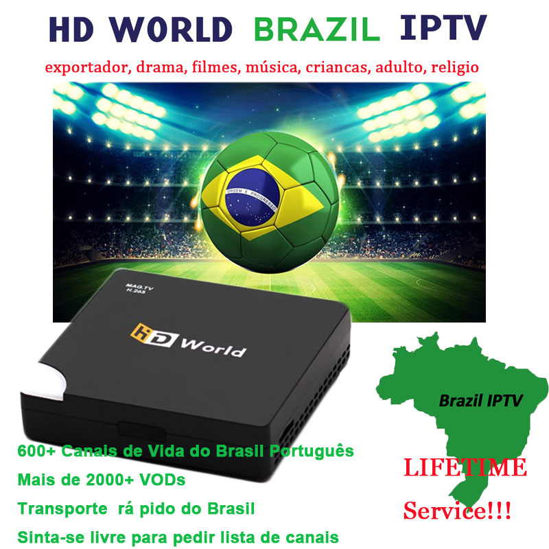 HD World Brazil IPTV for Android box MAG box 1GB 8GB support Brasil Portuguese lifetime service Sports Music Adult Football h96HD World Brazil IPTV for Android box MAG box 1GB 8GB support Brasil Portuguese lifetime service Sports Music Adult Football h96