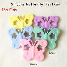 Ченкэй 10 шт bpa бесплатные силиконовые бабочки Прорезыватели