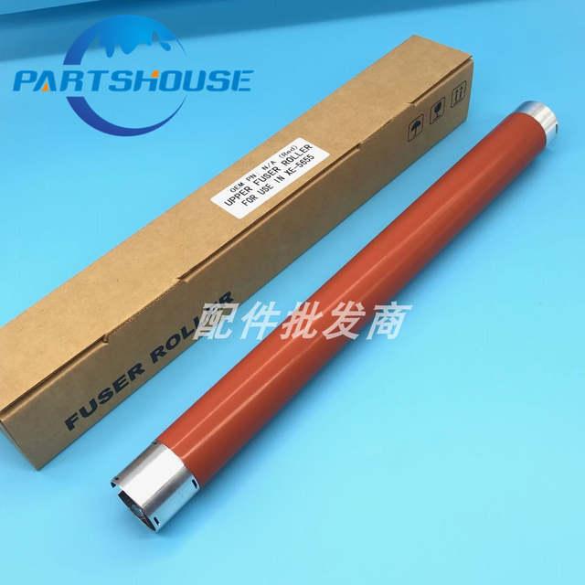 2Pcs Long life Upper fuser roller for Xerox WorkCentre 5645 5655 5735 5740  5755 5632 5638 heat fuser roller WC5655 5745 heater