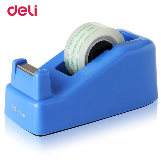 Deli Tape Adhesive Cutter Masking Tape factory carton supplies Eco-friendly High Quality Tape Dispenser Tape Cutter size 18 mm