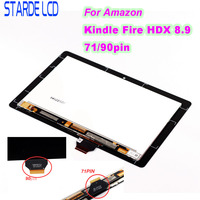 STARDE Replacement LCD For Amazon Kindle Fire HDX8.9 HDX 8.9 71pin 90 pin LCD Display Touch Screen Digitizer Assembly