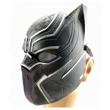 Black Panther Mask Captain America Cosplay Animal Masks Airsoft Cs go Protective costume game Marvel Heroes Fightin DC paintball