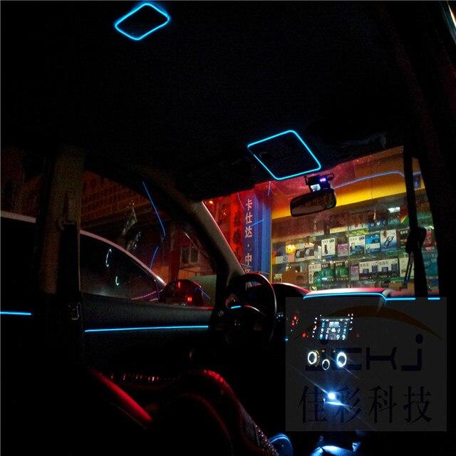 JingXiangFeng DIY Dekoration 12 V Auto Auto Interior LED Flexible ...