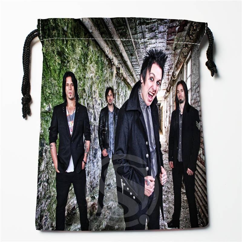 V#bO62 New Papa Roach Custom Logo Printed  Receive Bag  Bag Compression Type Drawstring Bags Size 18X22cm 7=12JvO62