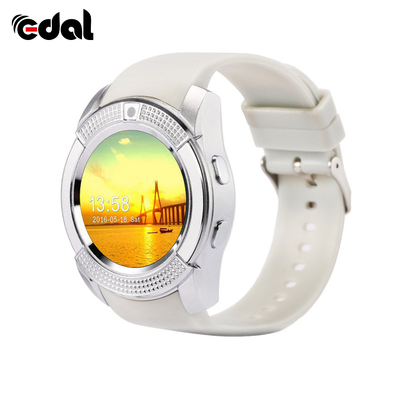 1.22 inch Smart Watch Clock Support Sim TF Card Slot Bluetooth Suitable For Apple iPhone Android Phone Smartwatch