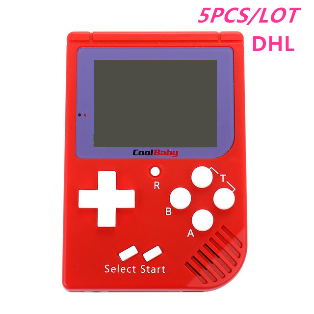 Hart Arbeitend 5 Teile/los Tragbare Retro Mini Handheld Spielkonsole 8 Bit 2,0 Inch Lcd Farbe Farbe Kinder Spiel-player Eingebaute 129 Spiele Und Ein Langes Leben Haben. Videospiele Unterhaltungselektronik