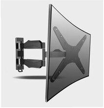 180 Degree Swivel Foldable and Retractable 23-50 inch TV Wall Mount LCD Bracket Max.Load 45kgs Max.VESA 400X400mm