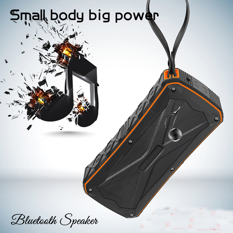Samtronic Portable Bluetooth Speaker Subwoofer Powerful IP65 Waterproof Mini Portable Wireless Music Speakers for Outdoor Phone