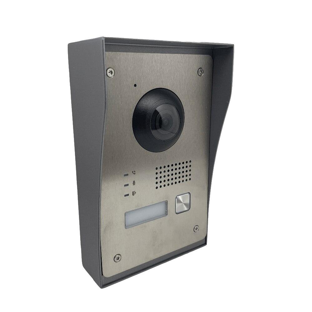 HIKVISION sem logotipo DS-KIS701 2-KIT Vídeo Porteiro Fio Pacote, incluem DS-KH8340-TCE2 * 1 DS-KV8103-IME2 * 1 DS-KAD709 * 1