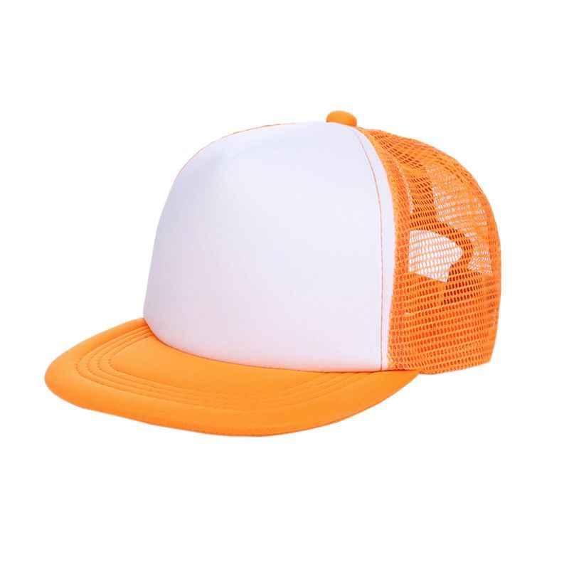 Bambini Ragazze Dei Ragazzi In Bianco Cappelli di Snapback Regolabile Berretto Da Baseball Boy Cappello Per Il Tempo Libero All'aperto Berretto Da Baseball Cappelli da Sole di Autunno della Molla