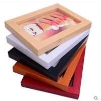 Colorful Square Wood Frame Photo Frame Wall Art Table Pictures Art Colorful Square Wood Frame Photo Wall Art Decor Table 3DHKE14