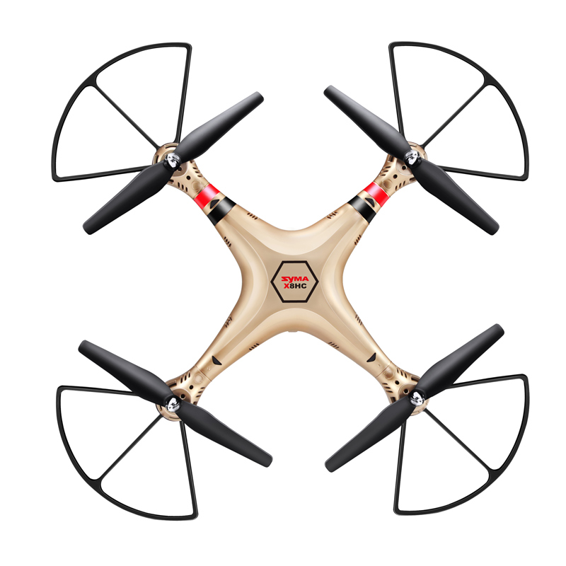 SYMA X8HC RC Drone With HD Camera Dron Quadcopter rc Helicopter Aircraft Drones Rolling Hover Headless Mode Toys For Boys Gift