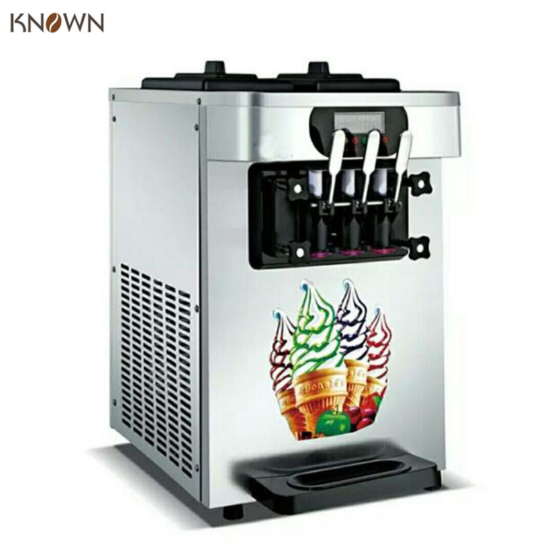Ice cream machine commercial soft serve icecream machine 3 ...