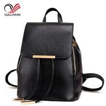 Femmes sac à dos de haute qualité en cuir véritable Mochila Escolar sacs d'école pour adolescents filles mode quotidienne Luxury Designer