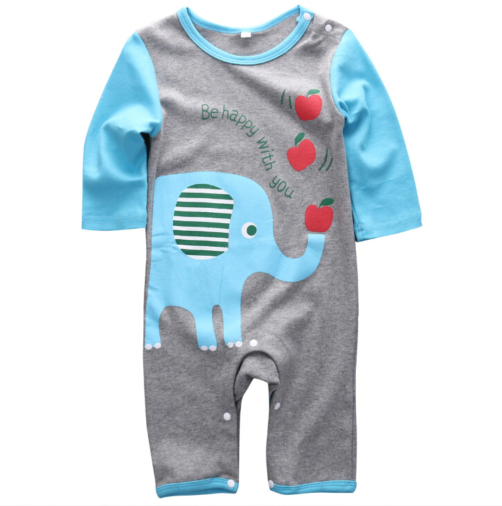 Newborn Baby Boys Girls Clothing Set  Long Sleeve Rompers Animals Warm Jumpsuit Baby Boy Clothes Sets cotton baby rompers set newborn clothes baby clothing boys girls cartoon jumpsuits long sleeve overalls coveralls autumn winter