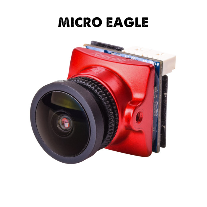 "RunCam Micro Eagle 800TVL FPV Camera NTSC / PAL 16:9 / 4:3 Switchable 1/1.8"" CMOS Sensor 5-36V for FPV Quadcopter Racing Drone(China)"