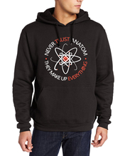 Hipster hoodies men 2017 Never Trust an Atom they Make Up Everything Funny Science harajuku sweatshirt hooded kpop fleece suits