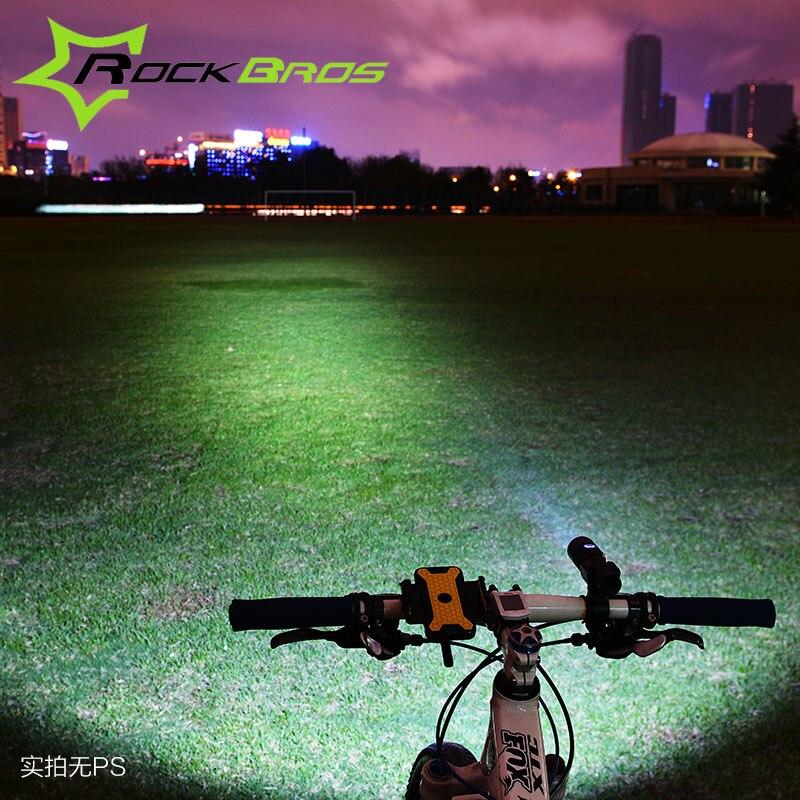 Bicycle Handlebar Light USB Charge lumiere velo luz bicicleta ...