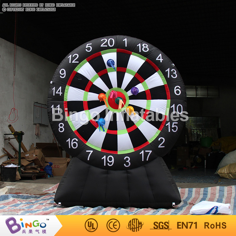 Free Delivery outside giant inflatable dart board 2.2 mts high quality PVC material dart game for boys and girls toys free delivery car engine computer board ecu 0261208075