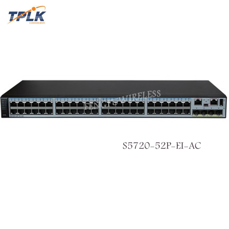 Cellphones & Telecommunications Fiber Optic Equipments 4 Sfps Gigabit Fiber Optic Switch We Take Customers As Our Gods Considerate Hua Wei Original New S5720-52p-ei-ac Switch 48 Ports Ethernet 10/100/1000 Base-t